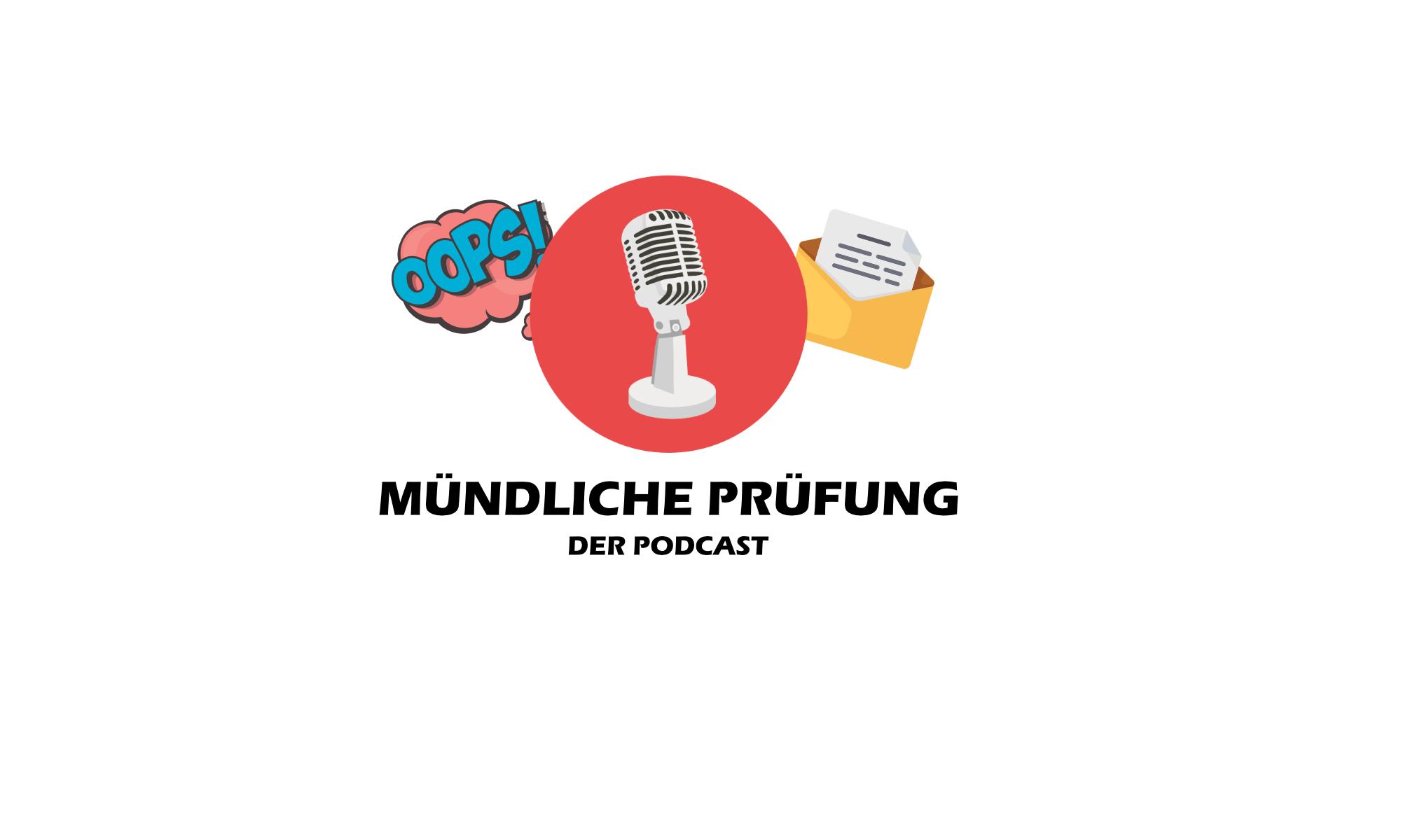 Mündliche Prüfung der thematisch breite Podcast